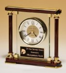 Piano-Finish Mantle Clock Achievement Awards