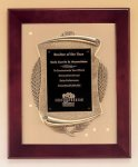 Rosewood Piano Finish Frame Plaque with Cast Relief Achievement Awards