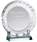 Crystal Plate Award Achievement Awards