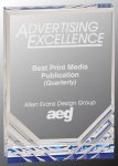 Jewel Mirage Acrylic Award -Blue Achievement Awards