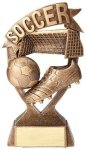 Banner Series Resin Trophy -Soccer Banner Resin Trophy Awards