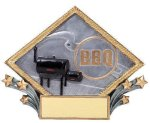 Resin Diamond Plate -BBQ Barbecue