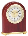 Small Domed Clock - Rosewood Boss Gift Awards