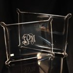 Acrylic Elegant Tray Boss Gift Awards