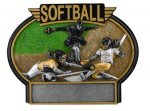 Burst Thru Awards -Softball Female BTX Resin Trophy Awards