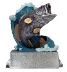 Classic  Line -Fishing Classic Resin Trophy Awards