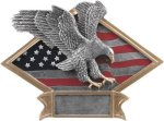 Diamond Plate Resin -Eagle Diamond Plate Resin Trophy Awards