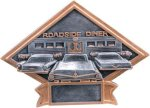Diamond Plate Resin -Car Show Diamond Plate Resin Trophy Awards