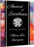 Watercolor Acrylic Plaque with Easel/Hanger Employee Awards