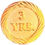 3 Year Pin Employee Awards
