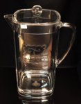 Acrylic Two Quart Pitcher Executive Gift Awards