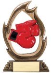 Flame Series -Boxing Flame Resin Trophy Awards
