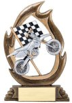 Flame Series -Motorcycle Flame Resin Trophy Awards