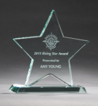 Jade Glass Star Award Jade Glass Awards