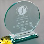 Cromwell Circle Jade Glass Awards