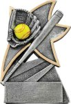 Jazz Star Resin -Softball Jazz Star Resin Trophy Awards