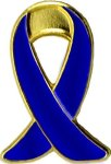 Child Abuse/Drunk Driving Awareness Pin Lapel Pins
