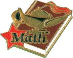 Math Pin Lapel Pins