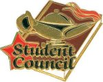Student Council Pin Lapel Pins