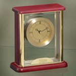 Glass Box Clock Mantle Clocks