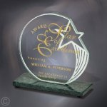 Sculpted Star Marble Awards