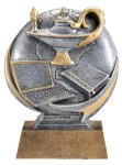 Motion X 3-D -Lamp of Knowledge  Motion X Action 3D Resin Trophy Awards