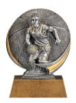 Motion X 3-D -Basketball Male  Motion X Action 3D Resin Trophy Awards