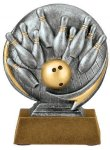 Motion X -Bowling Motion X Action 3D Resin Trophy Awards