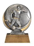 Motion X 3-D -Soccer Male  Motion X Action 3D Resin Trophy Awards