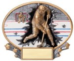 Motion X Oval -Hockey Male  Motion X Oval Resin Trophy Awards