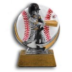 MXG5 Line -T-Ball Female MXG5 Colorful Resin Trophy Awards