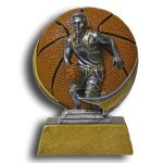 MXG5 Line -Basketball Male MXG5 Colorful Resin Trophy Awards