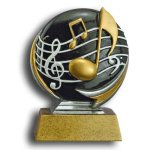 MXG5 Line -Music MXG5 Colorful Resin Trophy Awards