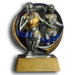 MXG5 Line -Runner Female MXG5 Colorful Resin Trophy Awards