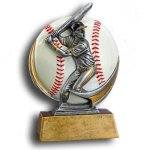 MXG5 Line -Baseball MXG5 Colorful Resin Trophy Awards