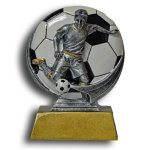 MXG5 Line -Soccer Male MXG5 Colorful Resin Trophy Awards
