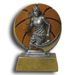 MXG5 Line -Basketball Female MXG5 Colorful Resin Trophy Awards
