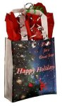Gift Bag With 4 Gusseted Bottom Promotional Bags | Totes