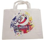 Shopping Bag With 7 Gusseted Bottom Promotional Bags | Totes