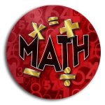 Math School Button Promotional Buttons
