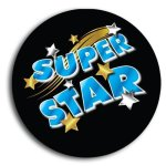 Super Star School Button Promotional Buttons