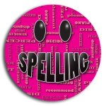Spelling School Button Promotional Buttons