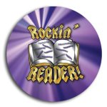 Rockin Reader School Button Promotional Buttons