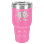 Stainless Steel Ringneck Double Wall Insulated Tumbler -Pink  Promotional Mugs