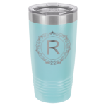 Stainless Steel Ringneck Double Wall Insulated Tumbler -Light Blue  Promotional Mugs