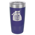 Stainless Steel Ringneck Double Wall Insulated Tumbler -Purple Promotional Mugs