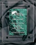 Green Marble Acrylic Award Recognition Plaque Sales Awards