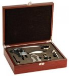 5-Piece Wine Tool Set -Rosewood Finish Secretary Gift Awards