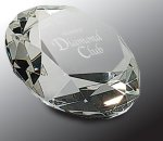 Crystal Diamond Paper Weight Secretary Gift Awards