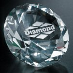 Diamond Paperweight Secretary Gift Awards